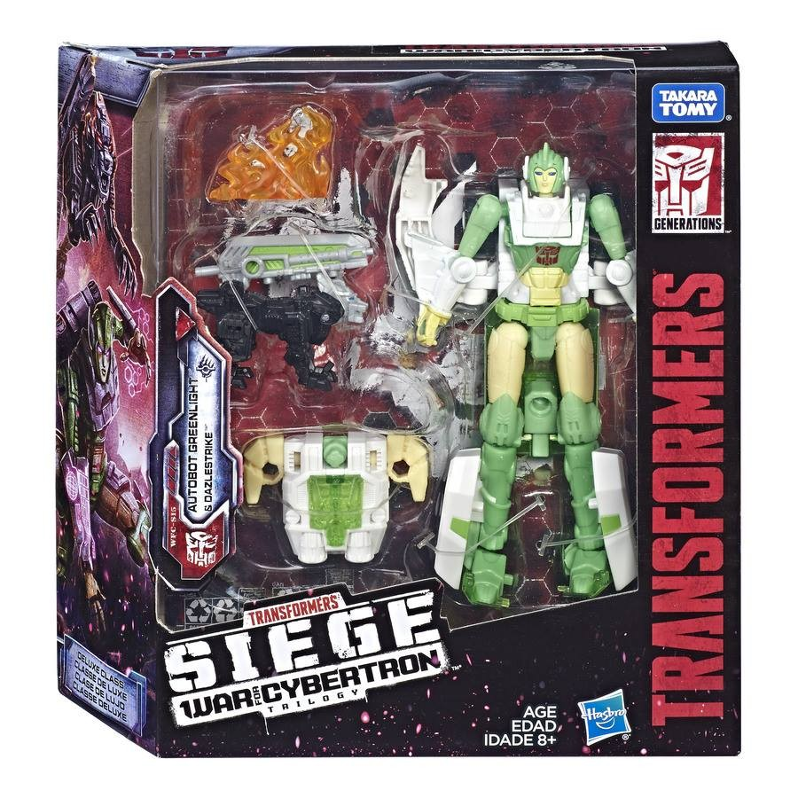 Transformers News: Transformers Siege Deluxe Class Greenlight with Battle Master Dazlestrike revealed