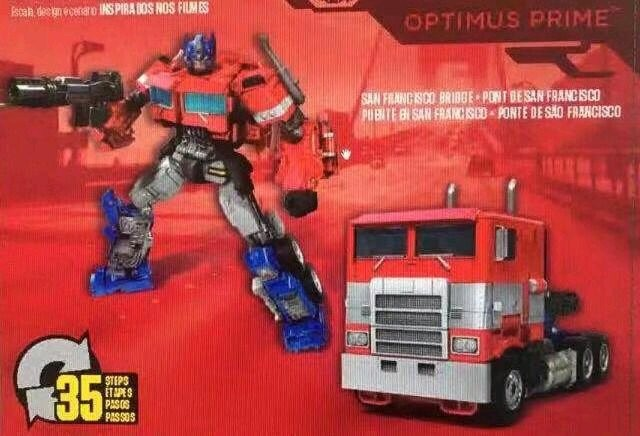 Transformers News: Leaked image of the back of the box of Studio Series 38 Bumblebee movie Optimus Prime