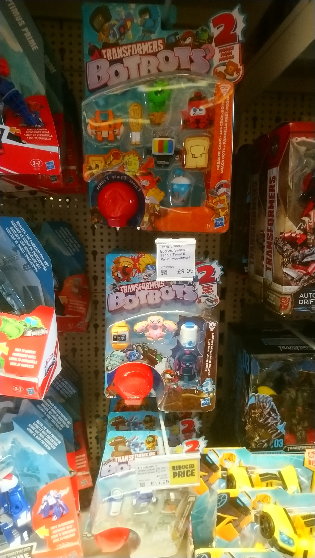 Transformers News: Hasbro Transformers BotBots Sighted at UK Retail