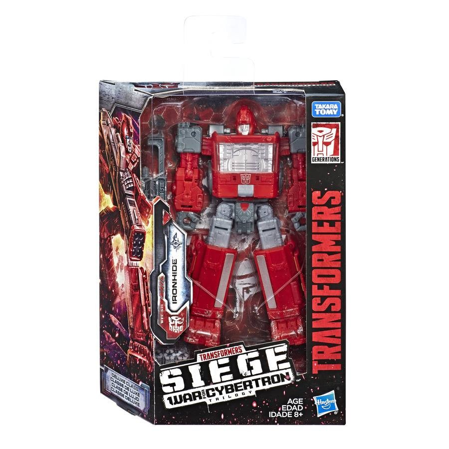 Transformers News: Transformers: SIEGE Wave 2 Deluxes and Battle Masters in Package!