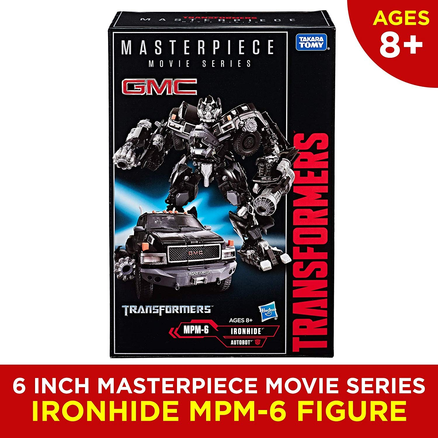 masterpiece movie series mpm 6 ironhide available now at amazon com