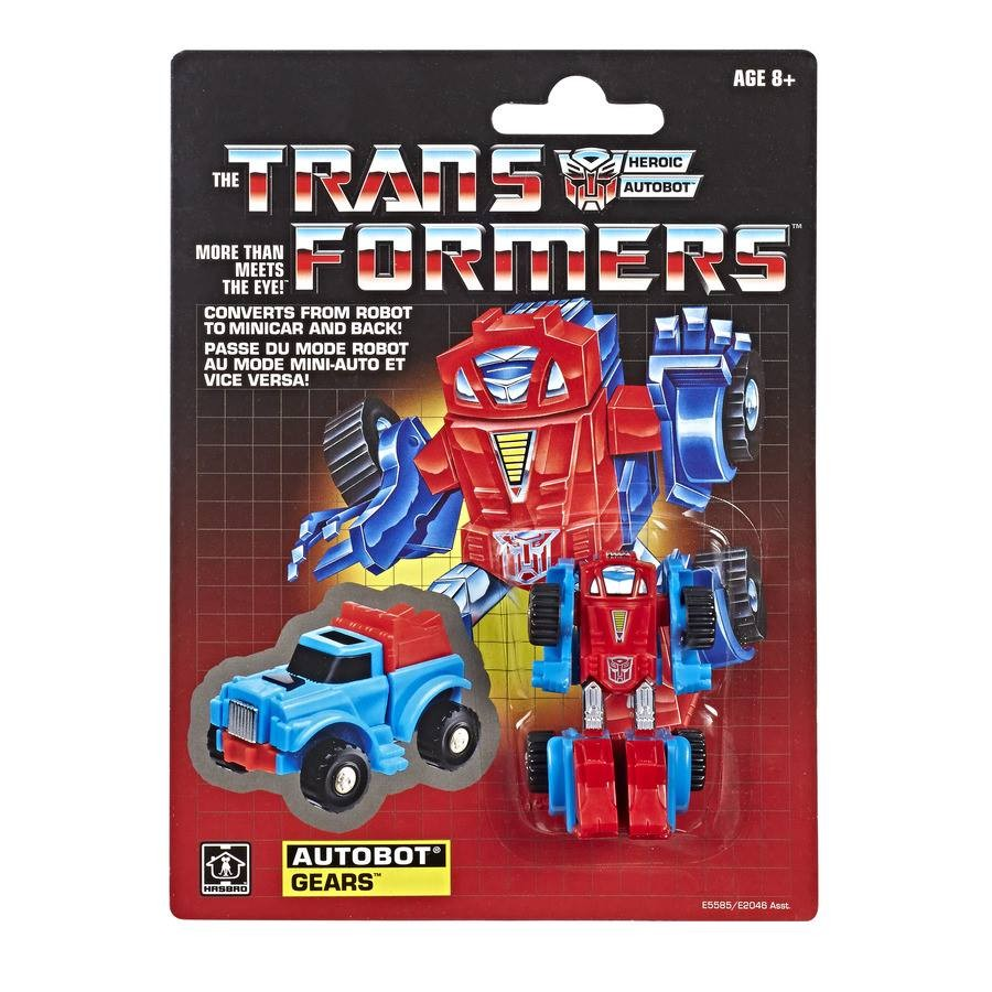 Transformers News: First Look at Warpath and Gears G1 Reissues