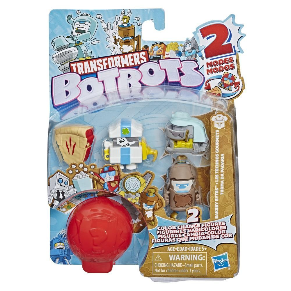 Transformers News: New Transformers BotBots Revealed along with New Colour Change Gimmick