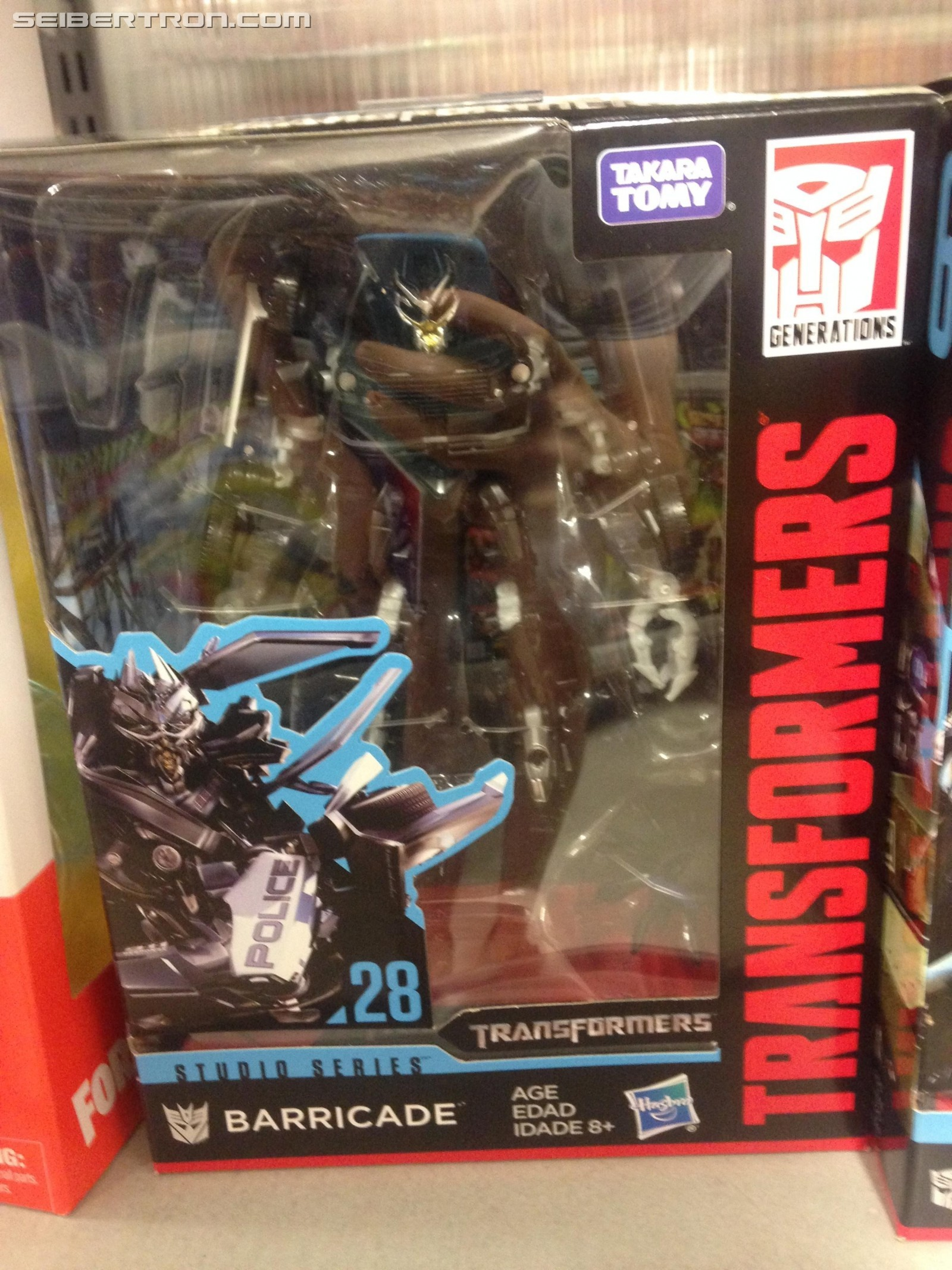 Transformers News: Studio Series Wave 5 Deluxe Toys with Barricade and Sideswipe Spotted in Australia