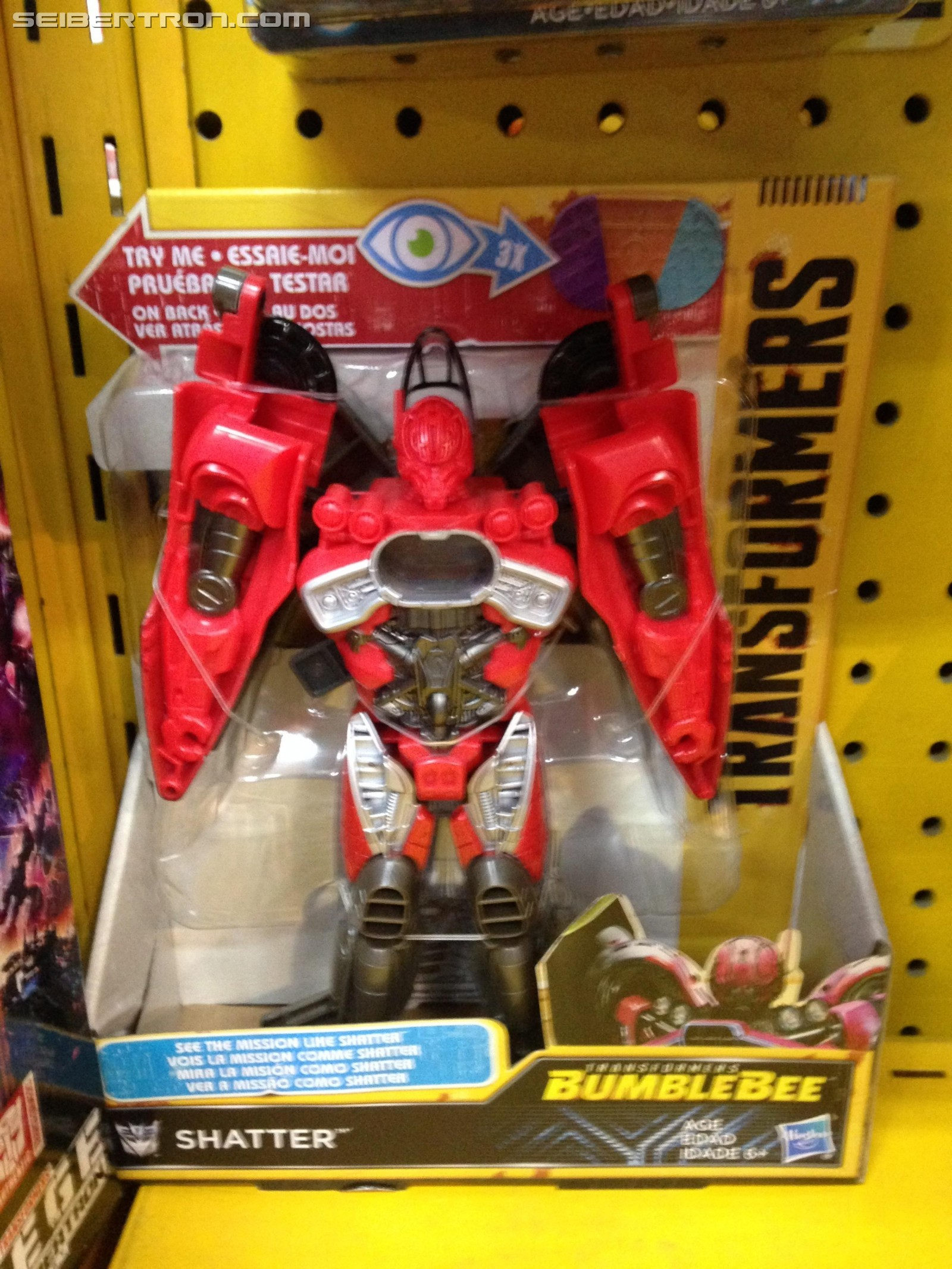 Transformers News: MPM Barricade and Bumblebee Mission Vision Toys Found in Australia