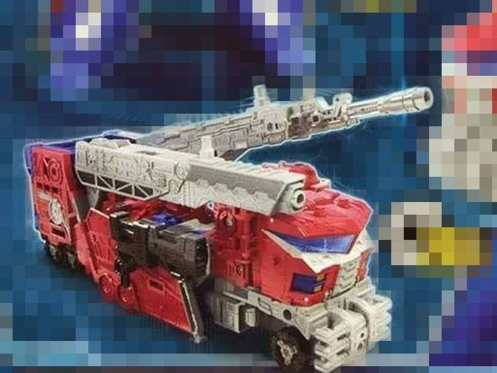 Transformers News: Leaked Image Of Transformers War for Cybertron Siege Leader Class Optimus Prime Alt Mode