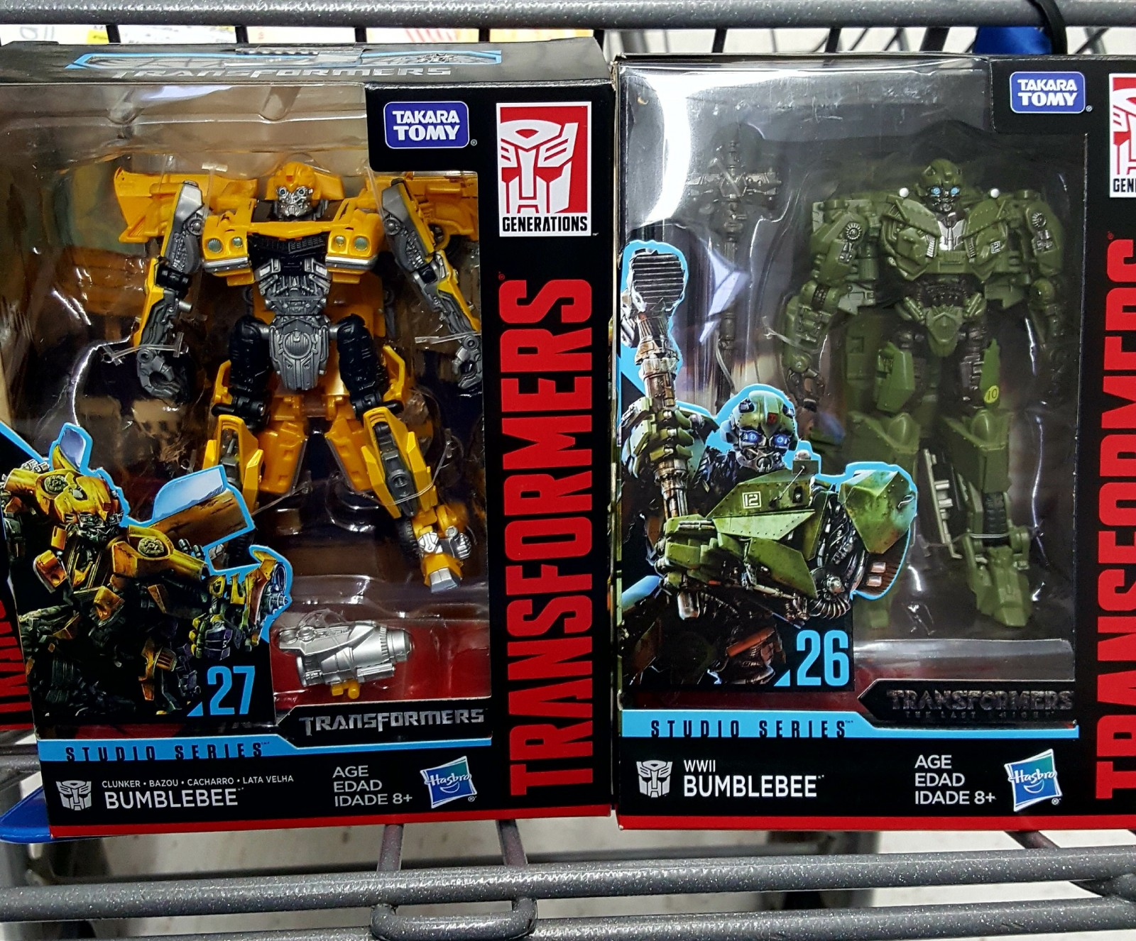 Transformers News: Studio Series #26 and #27 Spotted at USA Retail