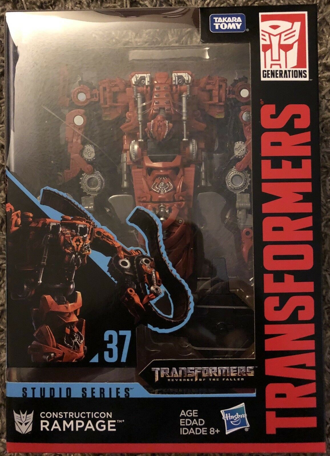 Transformers News: In Package Images for Transformers Studio Series Voyagers Rampage and Bumblebee Movie Optimus Prime