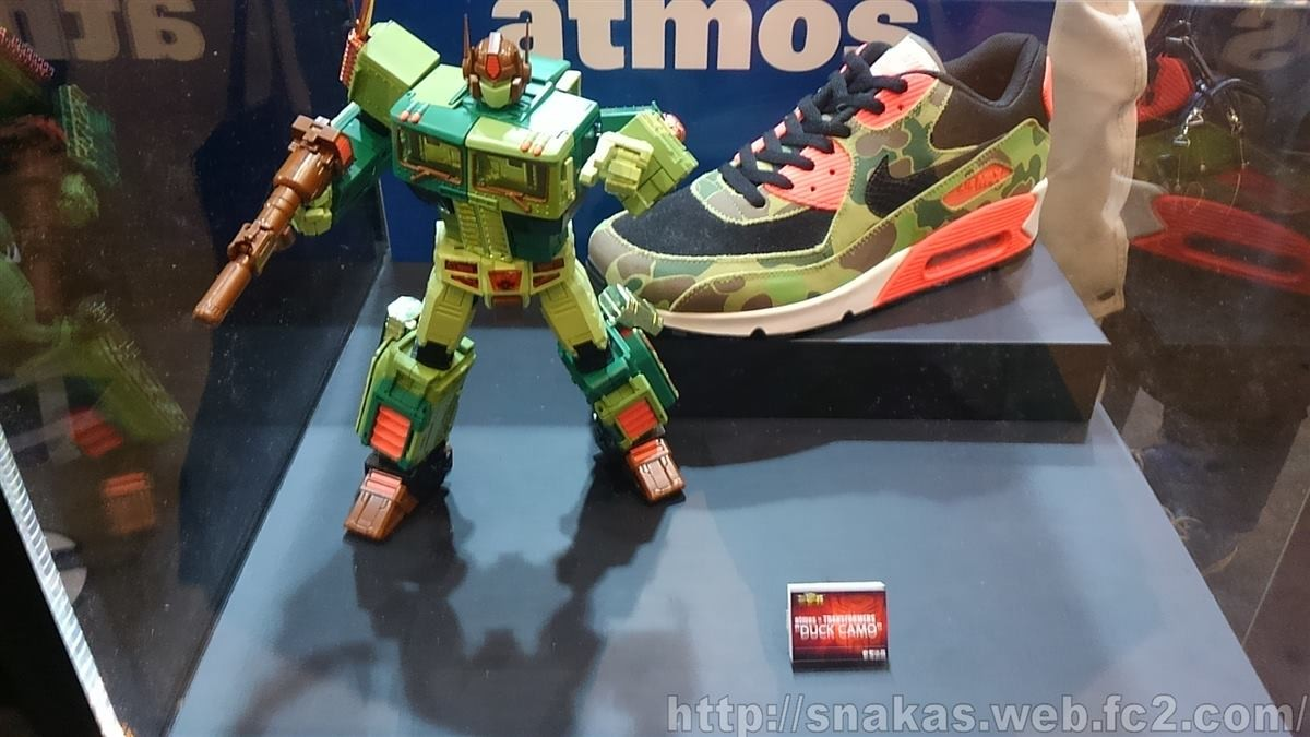 Transformers News: Masterpiece MP 10 Convoy x Atmos