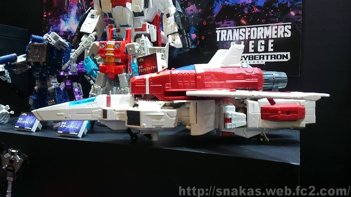 Transformers News: New Images of Transformers Siege Jetfire Showing his Colossal Size from Wonderfest 2019