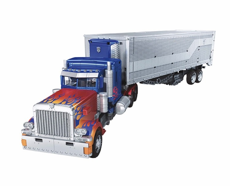Transformers News: More Official Images of Studio Series Leader DOTM Prime with Weapons Base, Helicopter Drift and More