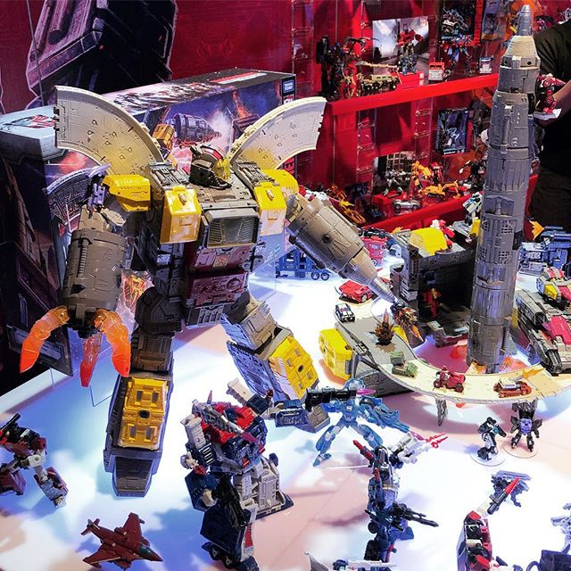 Transformers News: Siege Omega Supreme Photographed on NY Toy Fair 2019 Showfloor