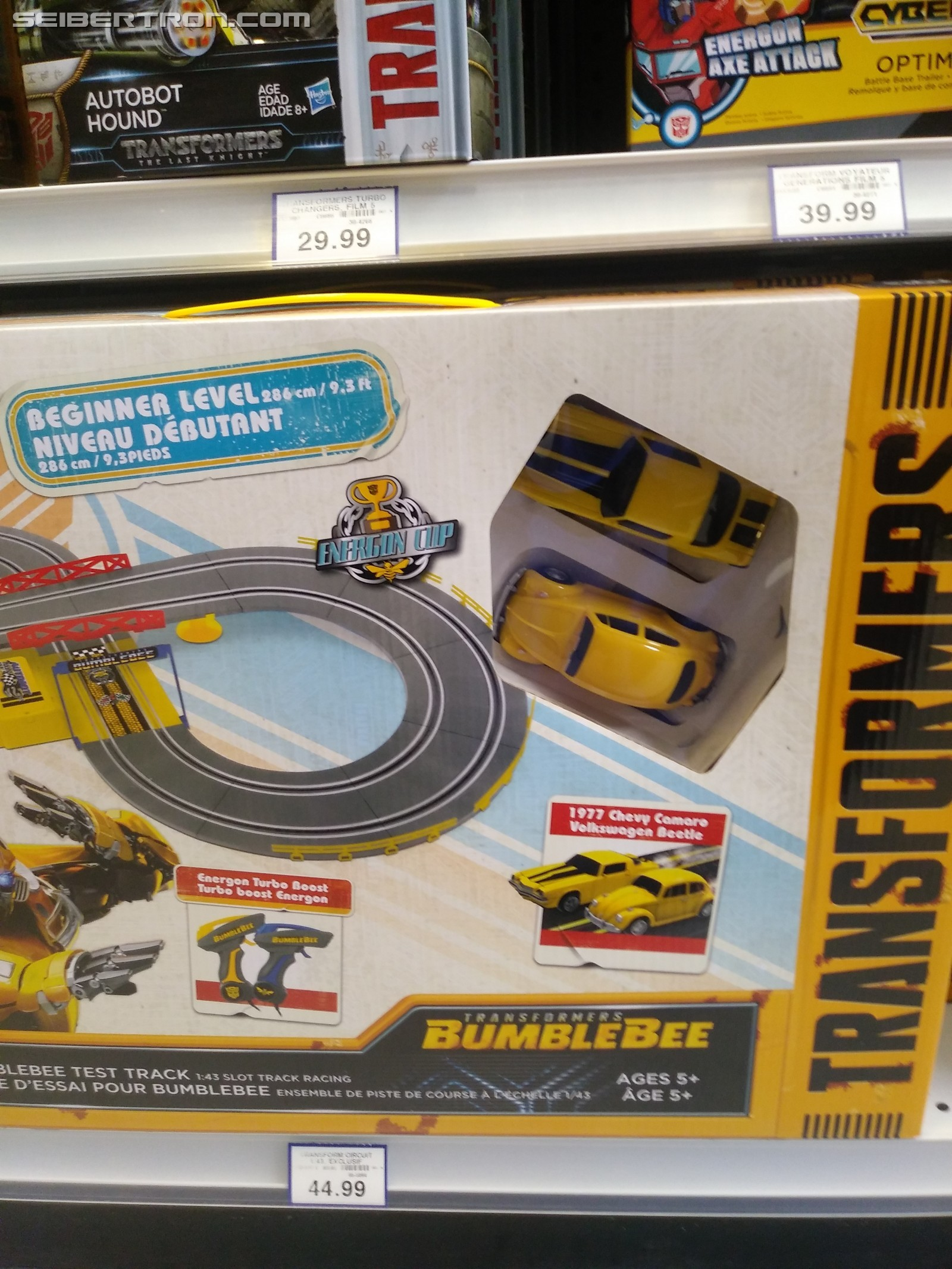 Transformers News: New Bumblebee Movie Toy RC Slot Track Set Found at Retail