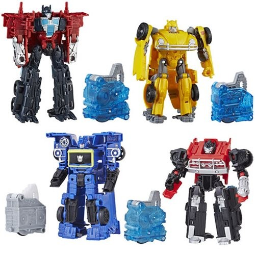 Transformers News: Power Plus Soundwave and Ironhide Found at US Retail Making Every Toy in Bumblebee Line Accounted Fo