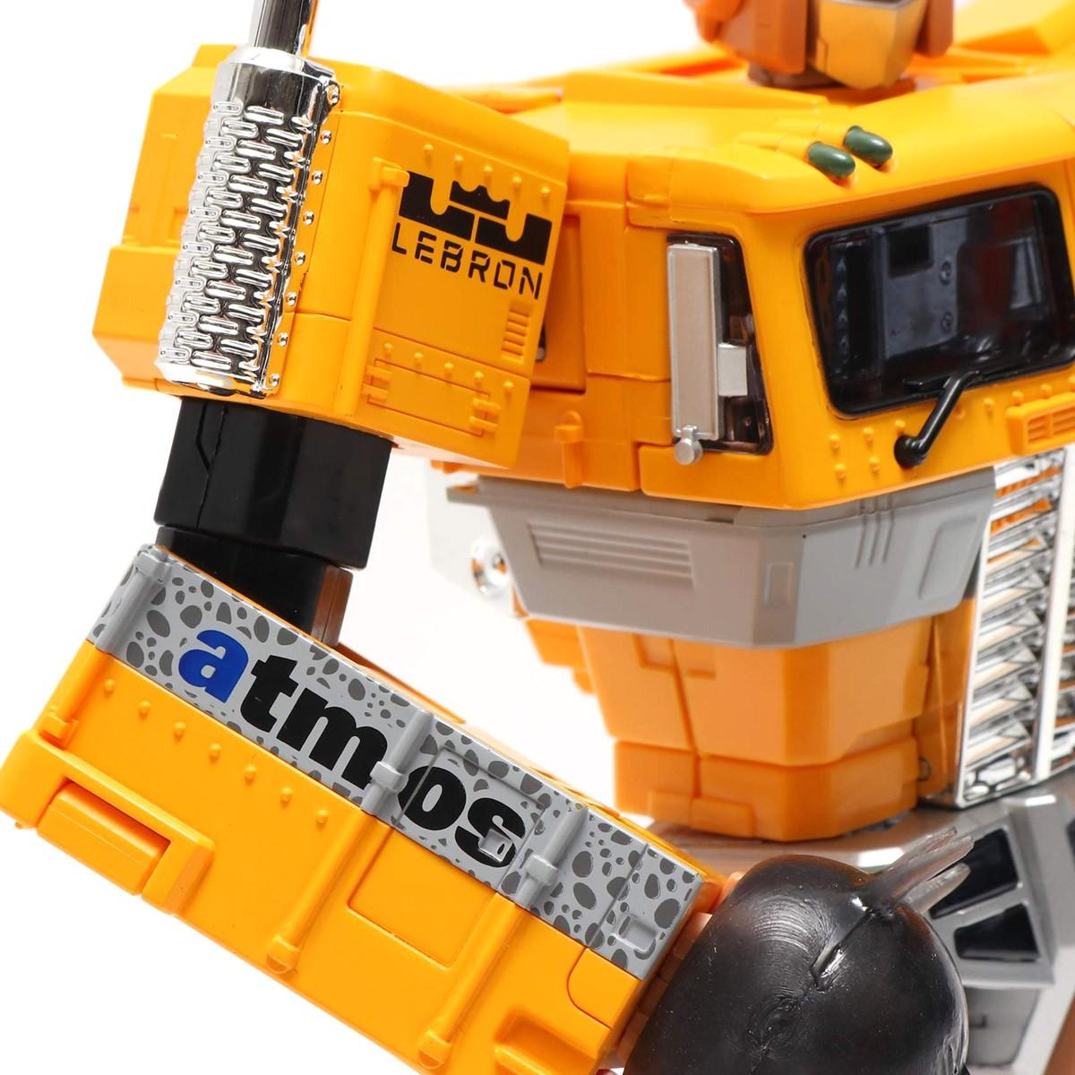 Transformers News: Masterpiece MP 10 Convoy x Atmos Safari Lebron Version Revealed