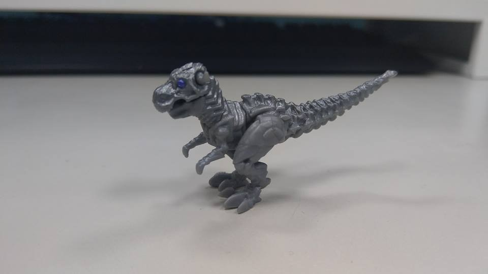 Transformers News: New In-Hand Images - Transformers Studio Series Drift with Baby Dinobots