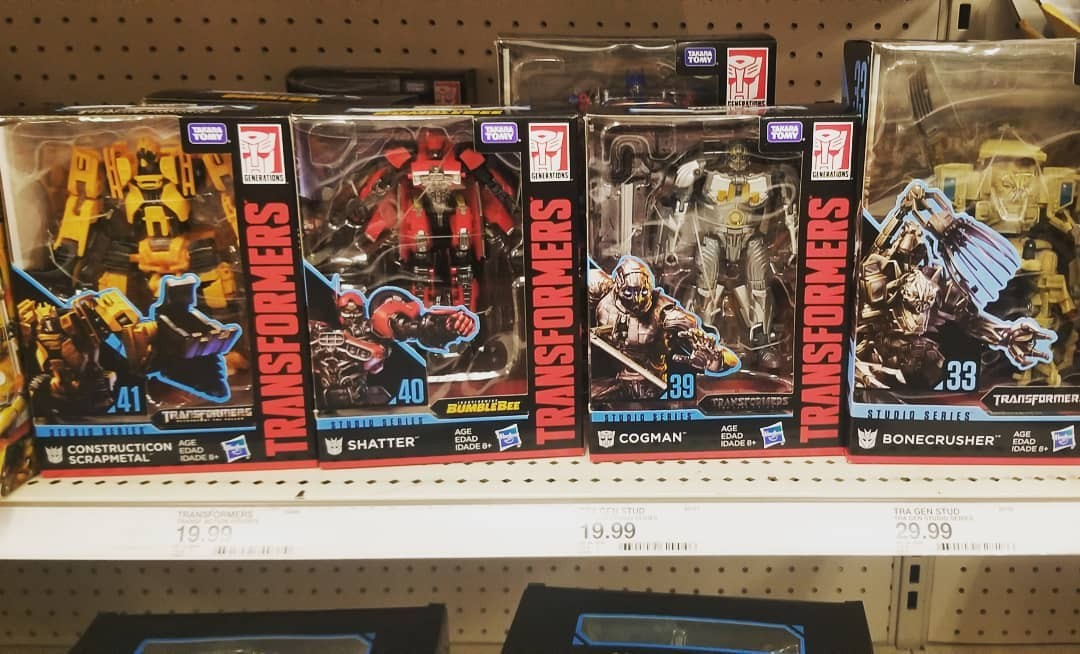 Transformers News: Studio Series Wave 6 Sighted at US Retail