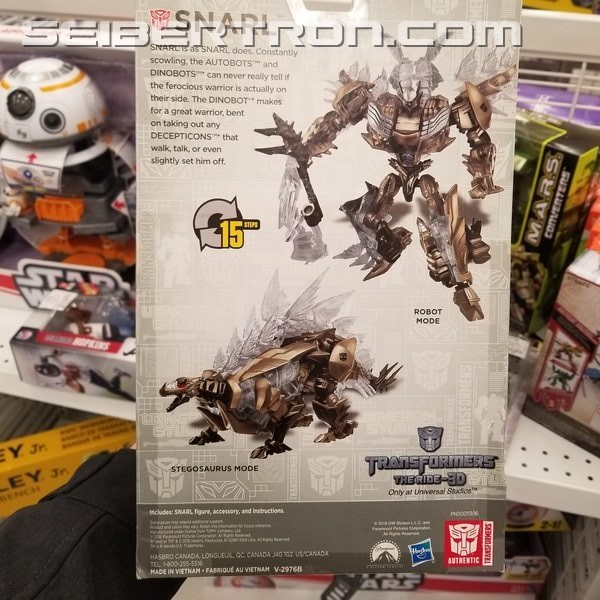 Transformers News: Universal Studios Exclusive Deluxe Snarl Found at Ross for $7.99