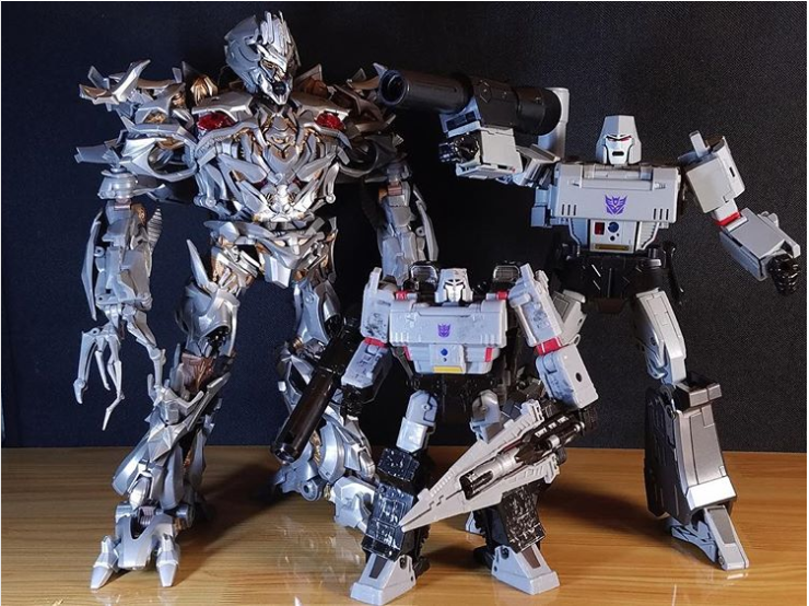 Transformers News: New  Movie Masterpiece Image of Megatron Reveals his Enormous Size