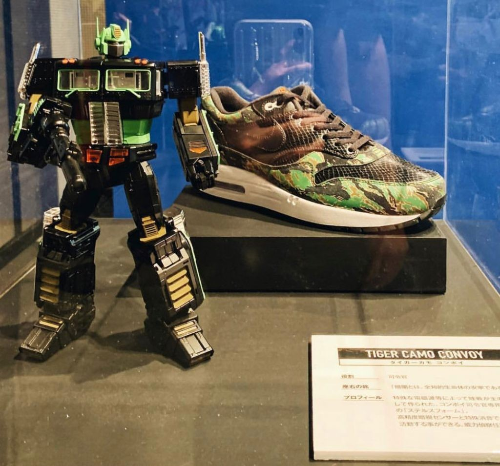 Transformers News: 2 More Masterpiece MP 10 Convoy x Atmos Figures Revealed - Tiger Camo Black and Tiger Camo Yellow