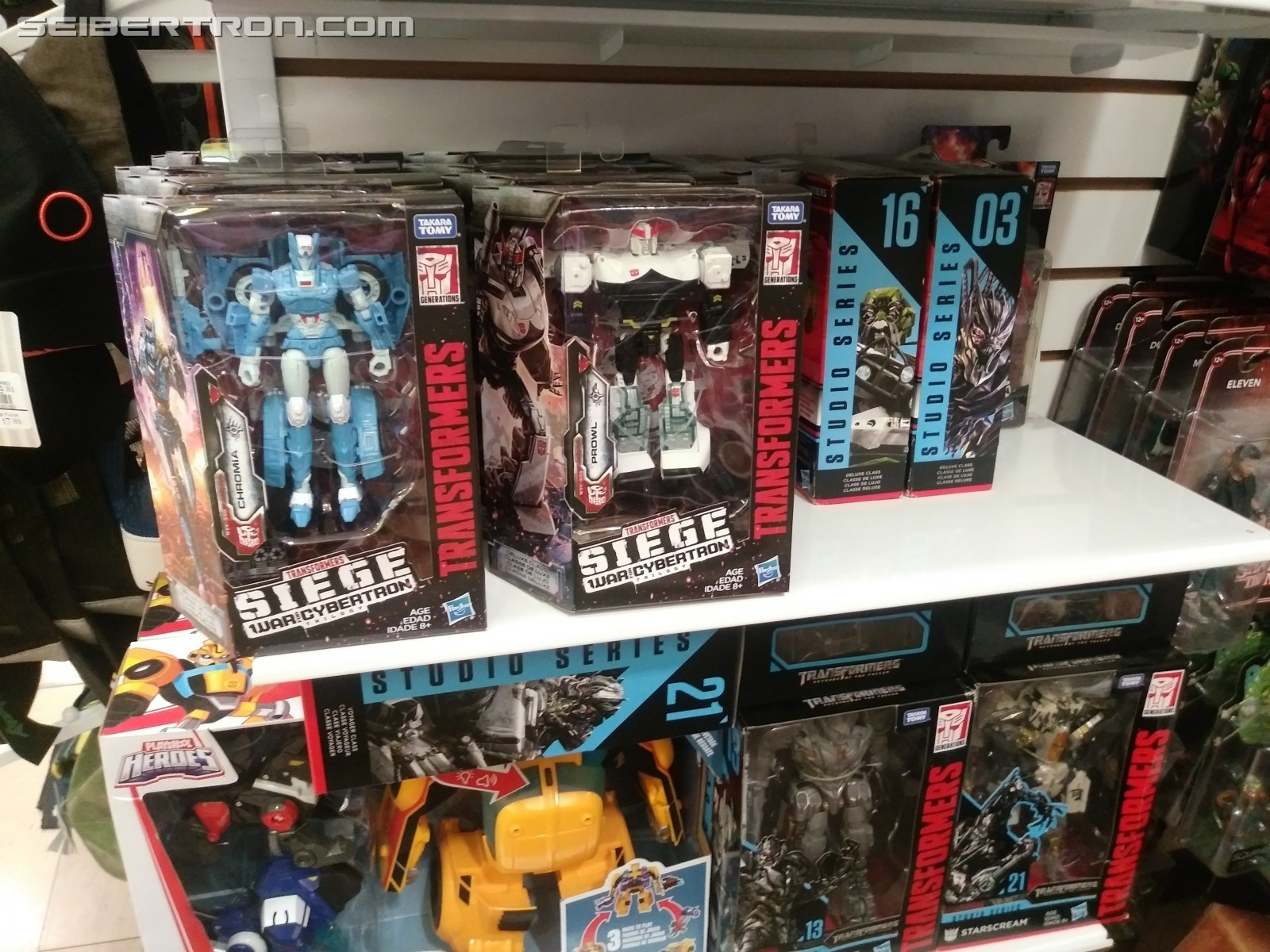 Transformers News: Transformers Siege Wave 2 Deluxes Being Found Across the Globe