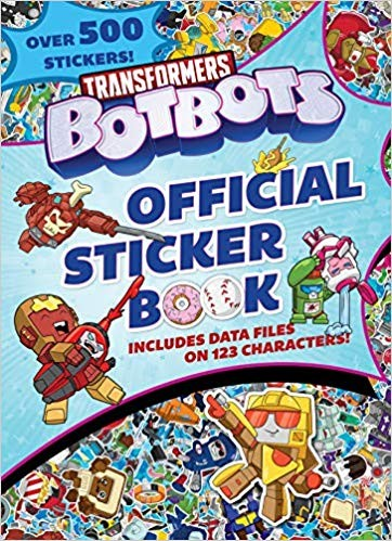 Transformers News: Transformers BotBots Sticker Book Revealed