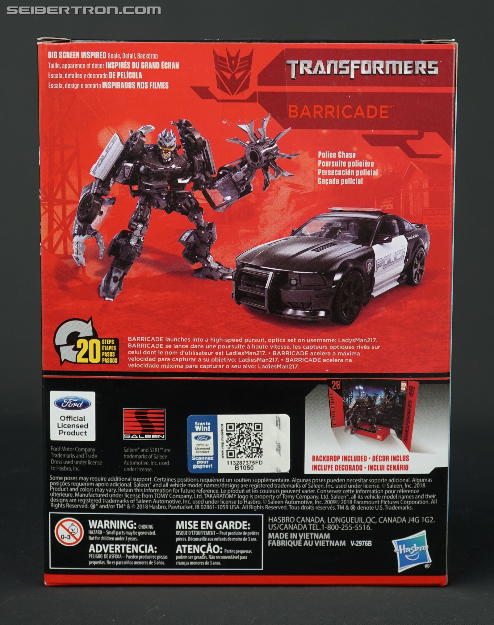 Transformers News: Everyone is a Winner with Ford and Studio Series Barricade