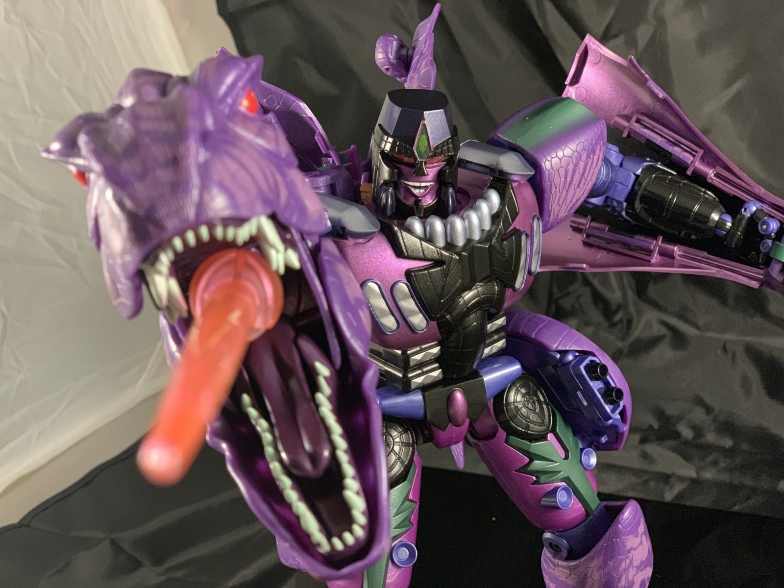 Transformers News: A Deluge of In hand Images for Masterpiece Beast Wars Megatron