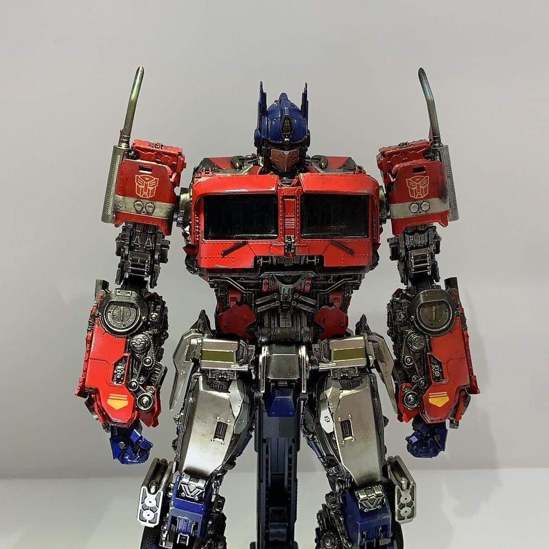 2 DELUXE SET 8/' LARGE TRANSFORMERS OPTIMUS PRIME BUMBLEBEE ACTION FIGURES TOY