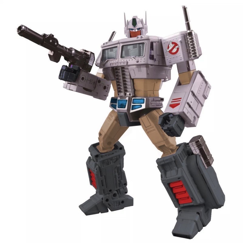 Transformers News: Ghostbusters Transformer Crossover News with Ectotron Review and Possible MP 10 Image
