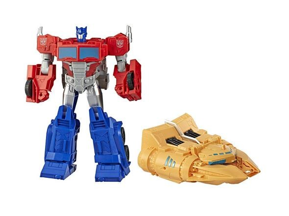 Transformers News: New Images Of Transformers Cyberverse Spark Armour Ark Power Optimus Prime