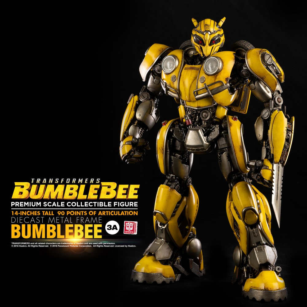Transformers News: New Images Of 3A Bumblebee Movie Bumblebee Articulated Scale Figure