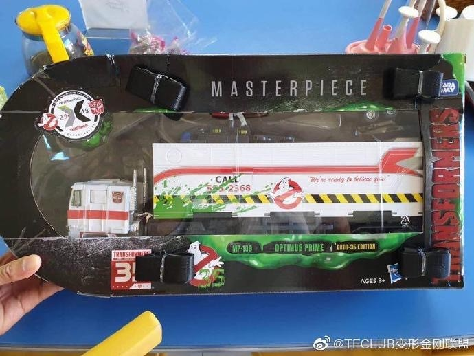 Transformers News: Exclusivity, Package and Reasonable Price Revealed for Ghostbuster MP 10 Optimus Prime