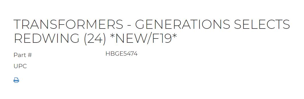 Jouets Transformers Generations: Nouveautés Hasbro 1556759650-redwing