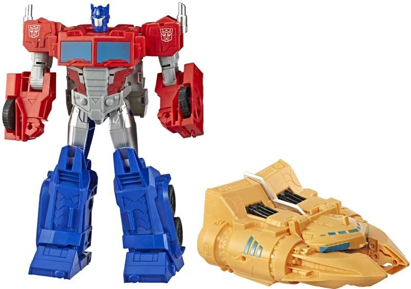 Transformers News: Final Product Stock Images for Transformers Cyberverse Spark Armor Starscream, Bumblebee and Prime
