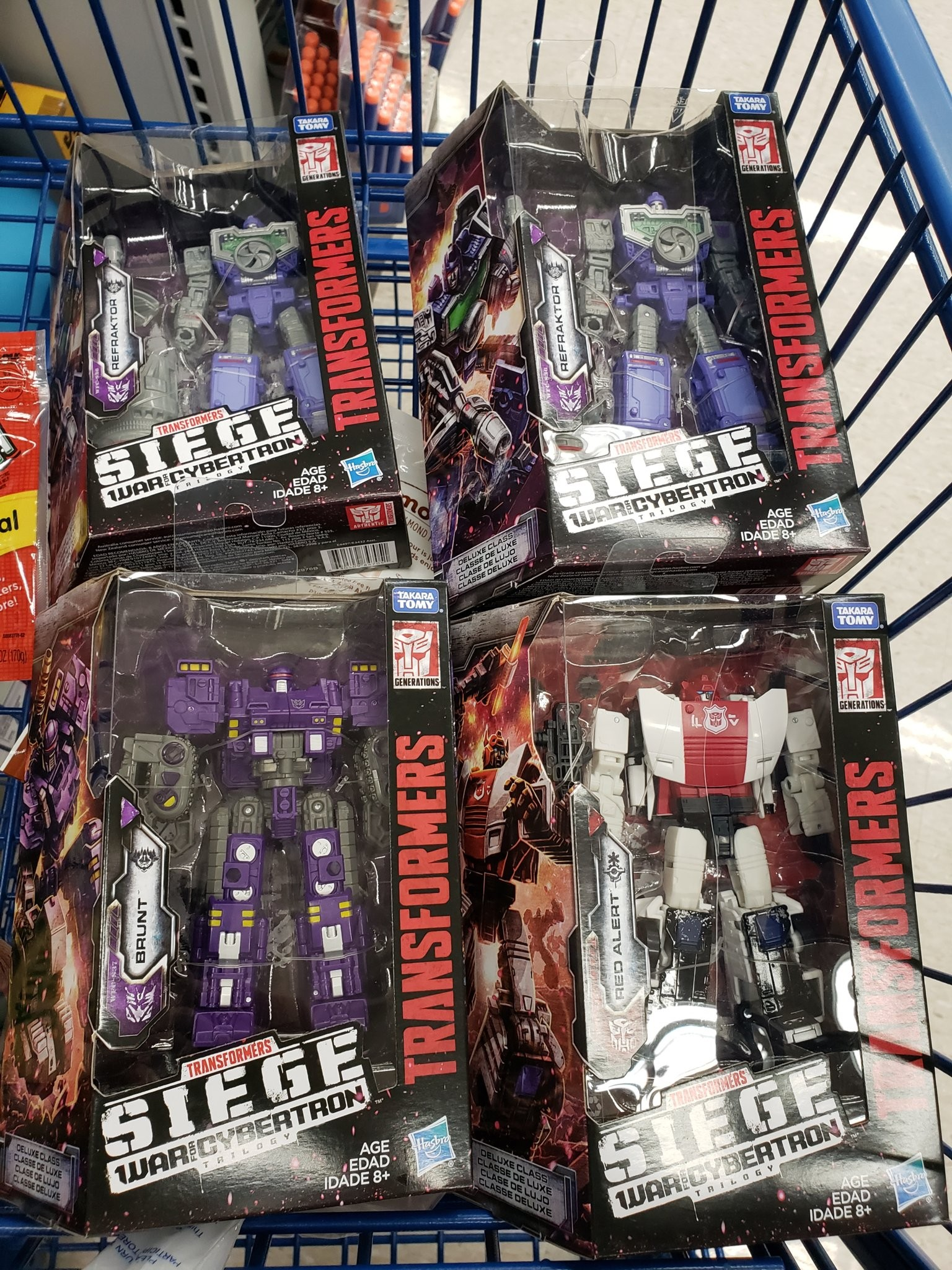 Transformers Generations Siège Deluxe Wave 3 alerte rouge