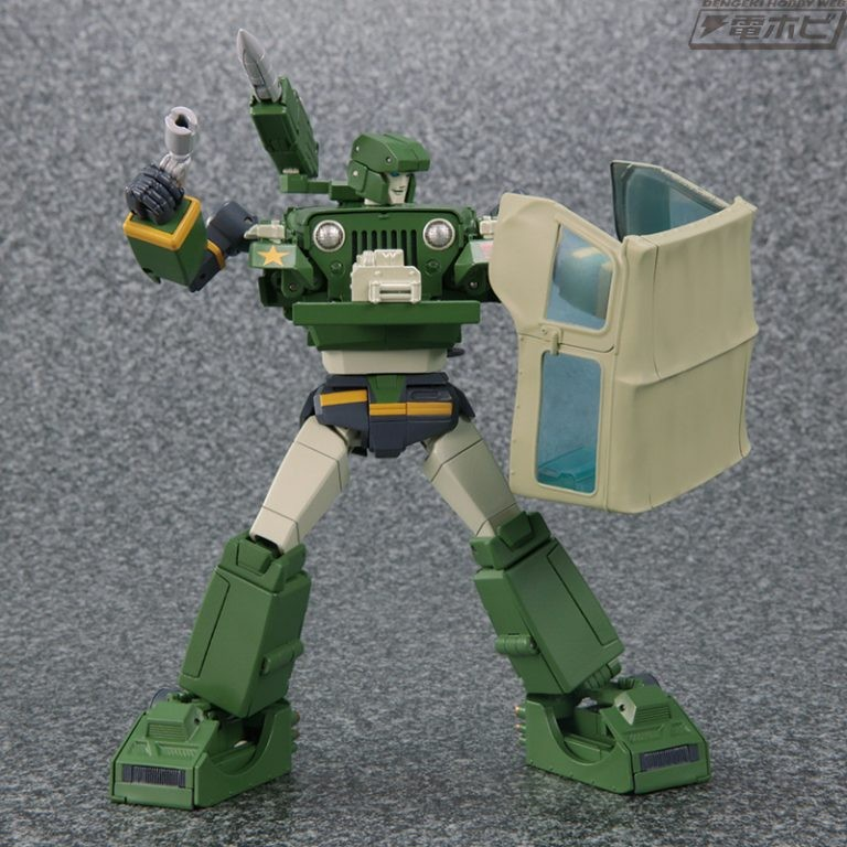 Transformers News: Official Images and MSRP Reveal for Transformers Masterpiece MP-47 Hound