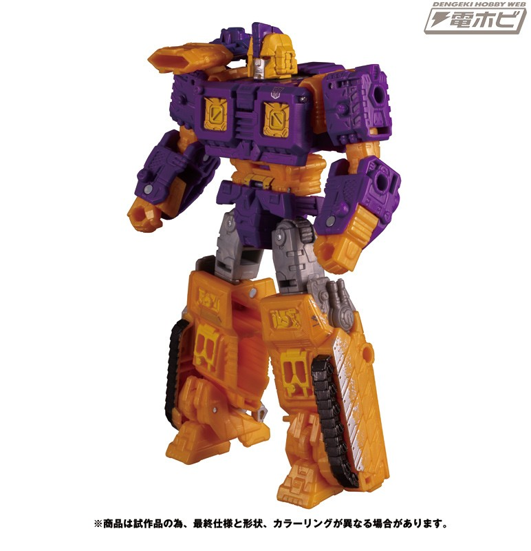 Transformers News: TakaraTomy stock photos of WFC Siege SG-36 Deluxe Impactor and SG-37 Leader Galaxy Upgrade Optimus