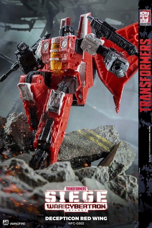Transformers News: Awesome new Images of Transformers Generations Select Red Wing