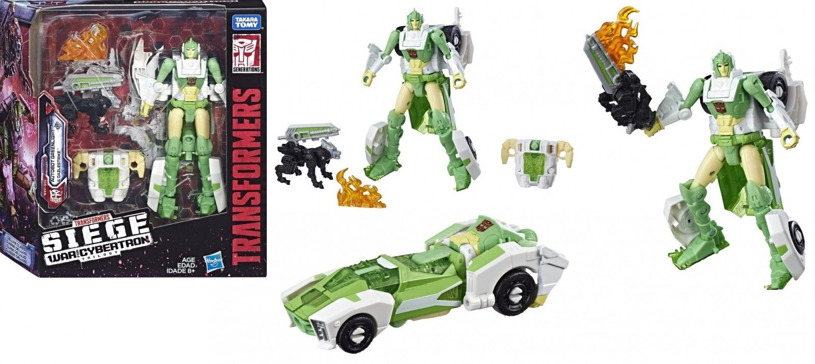 Transformers News: Transformers War for Cybertron: Siege Amazon Exclusive Greenlight Pre Order Method