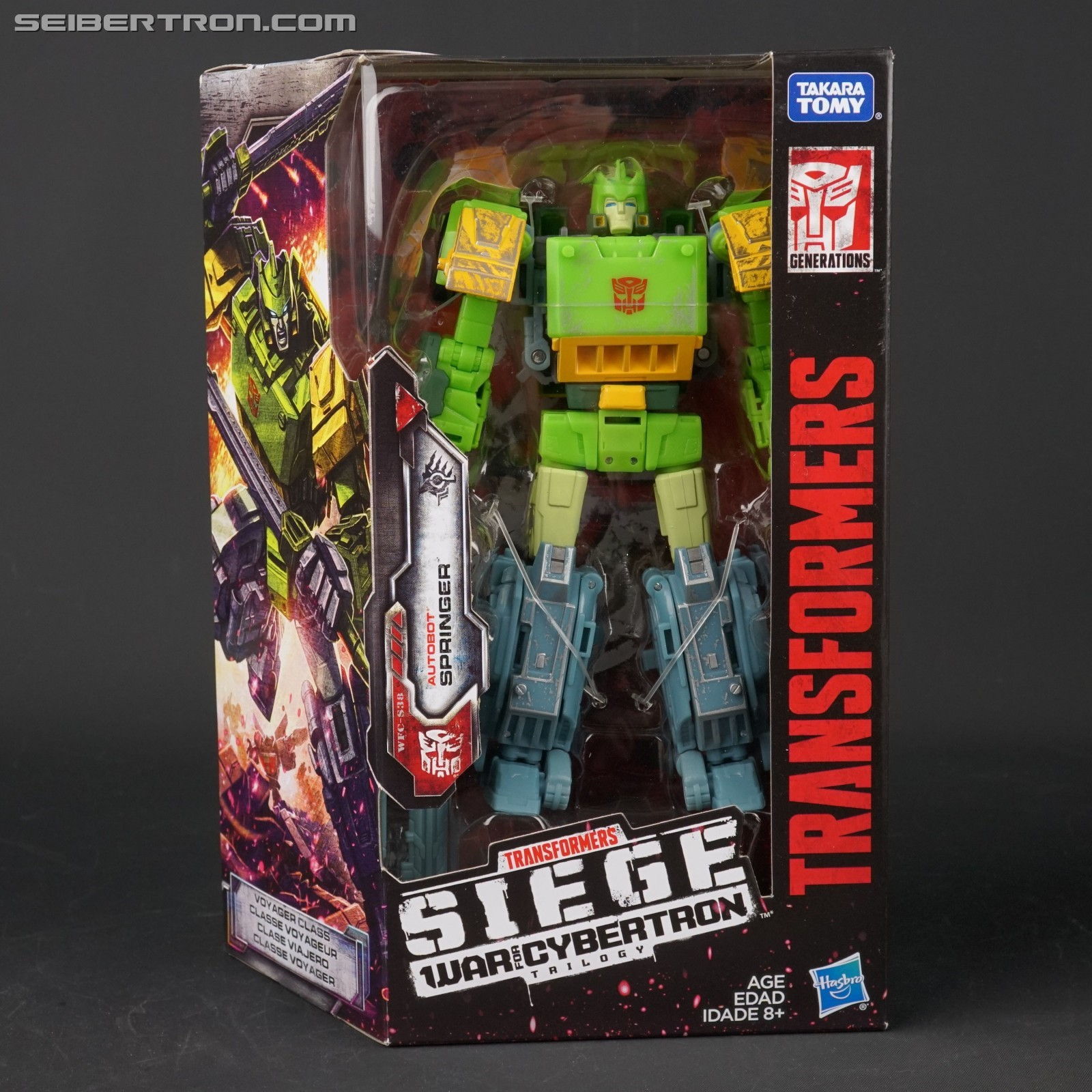 TRANSFORMERS WAR FOR CYBERTRON SIEGE VOYAGER SPRINGER IN STOCK MISB