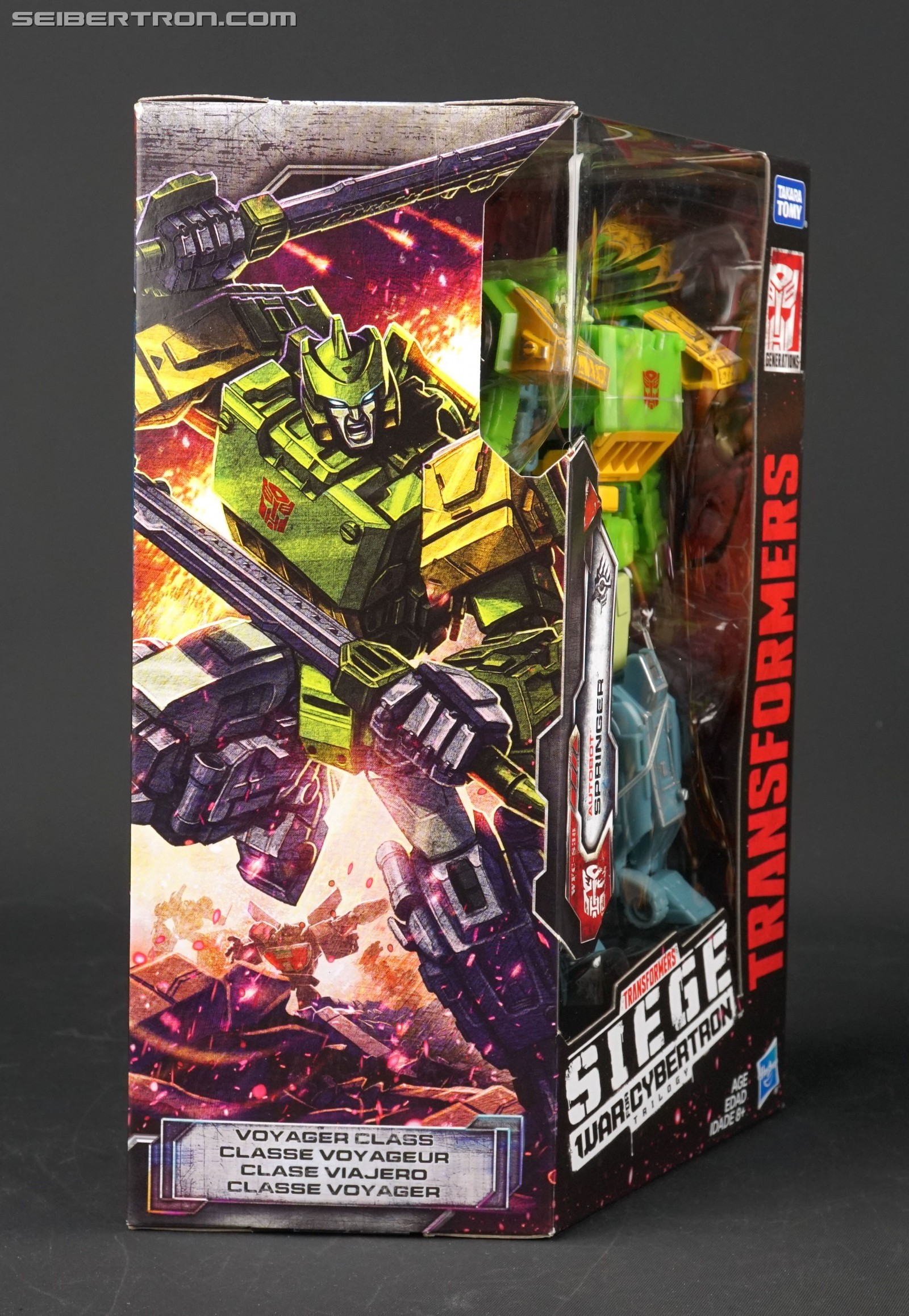 Transformers News: Transformers Wheeljack Teased on War for Cybertron Siege Springer Box