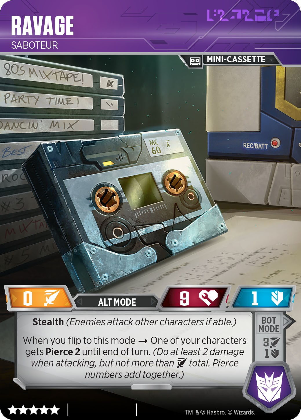 Transformers News: Transformers Trading Card Game Blaster vs Soundwave Pack Retail Version and Omnibots Revealed