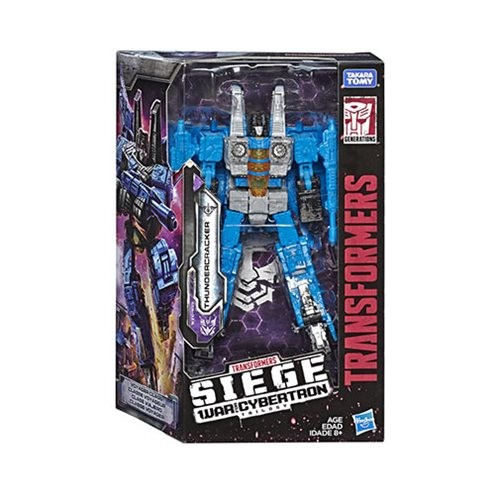 Transformers News: Transformers Siege Thundercracker and Megatron Case Available at Entertainment Earth