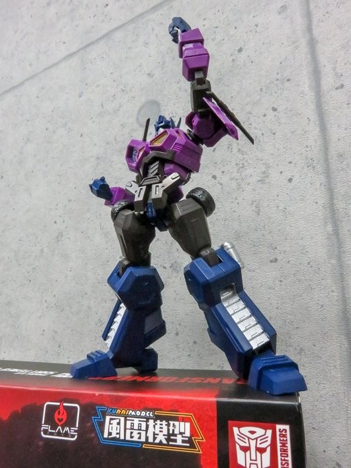 Transformers News: Flame Toys Transformers Shattered Glass Optimus Prime Images