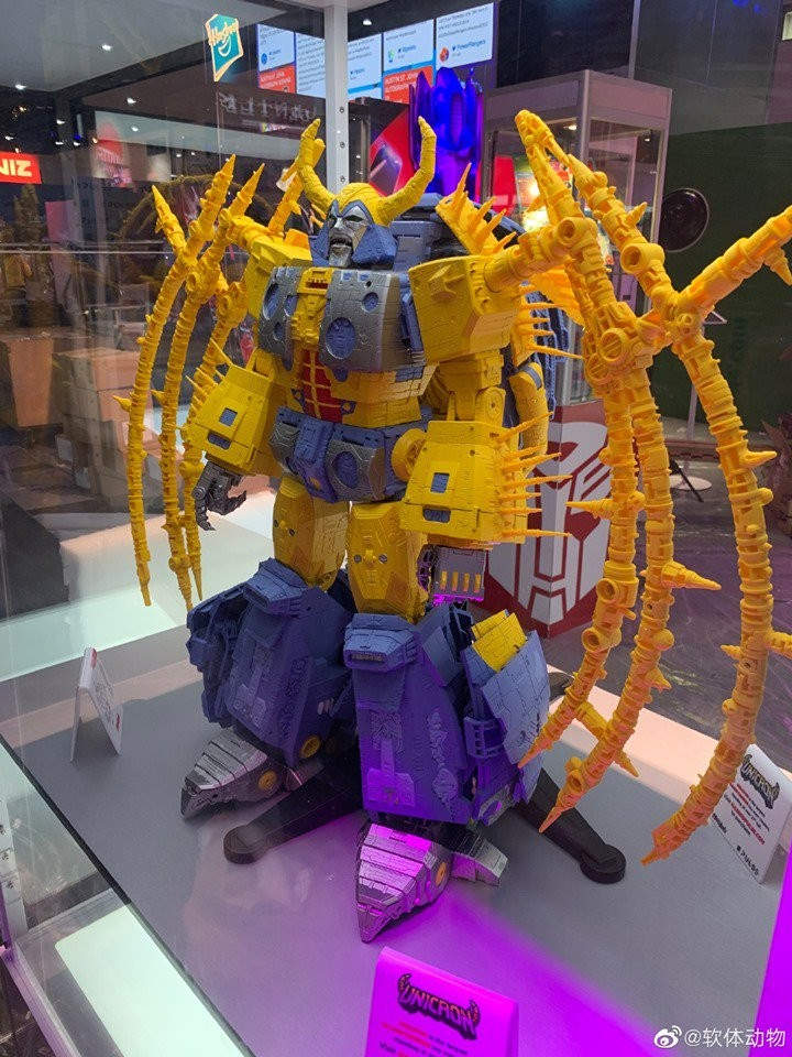 Transformers News: #SDCC2019 New Images of Unicron From Front and Back
