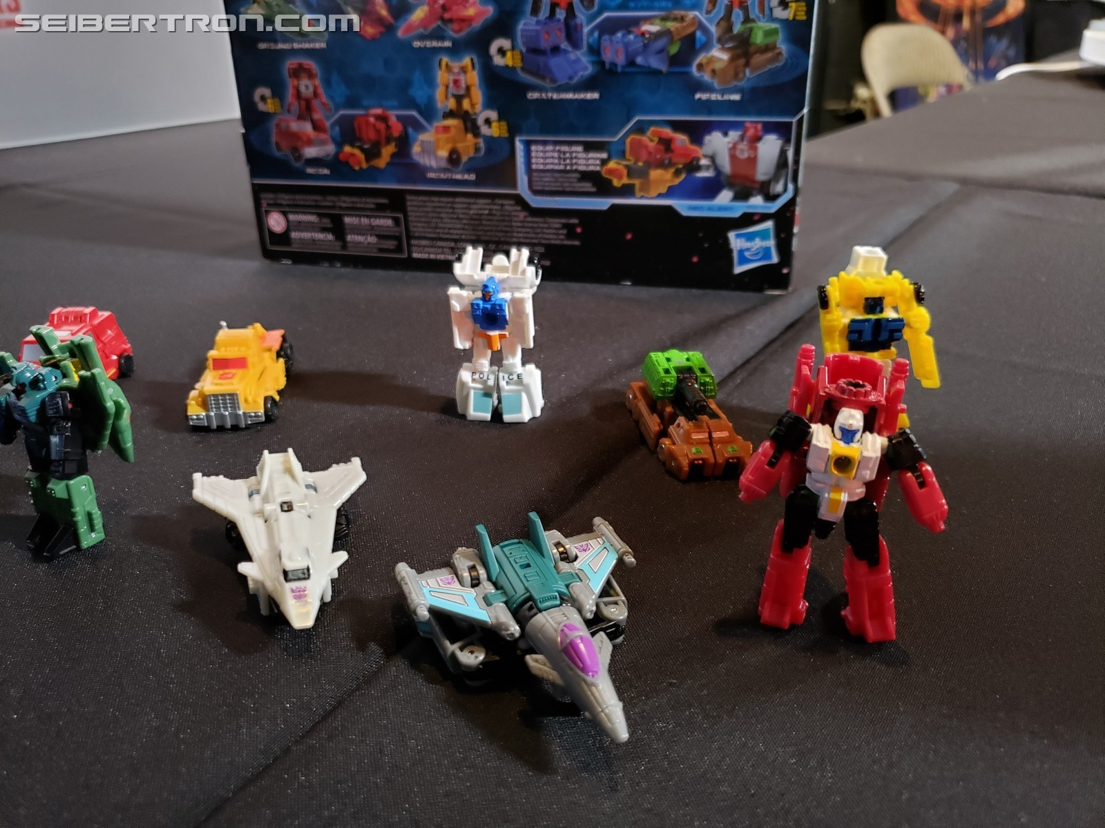 Transformers News: Hasbro Officially Reveals the Siege Target Exclusives at #SDCC2019 with Micromaster 10 Pack Names