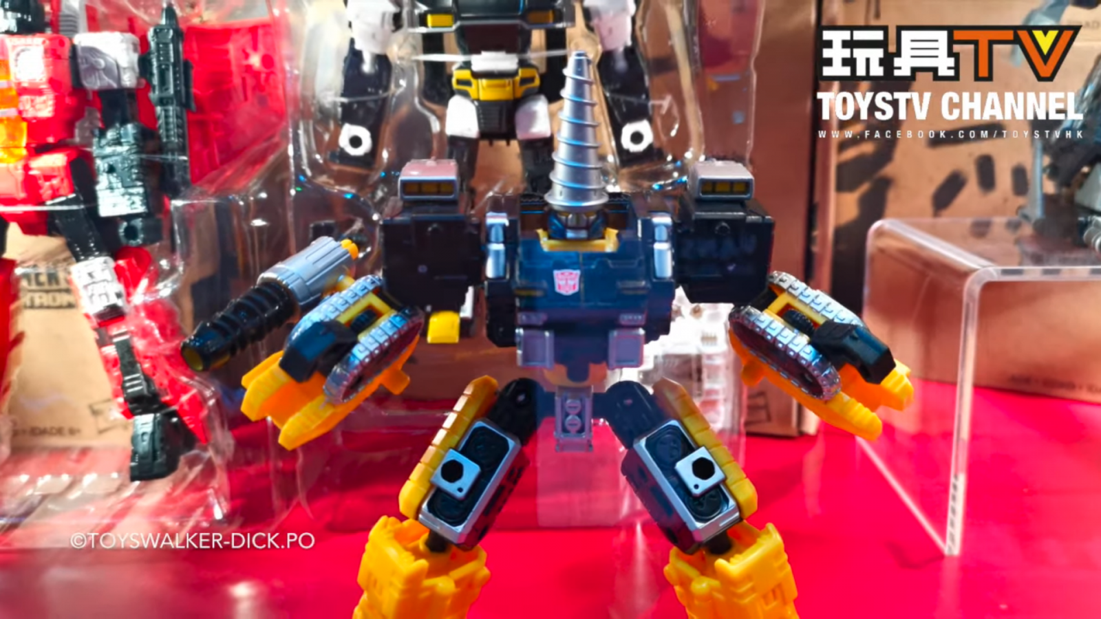 Transformers News: Powerdashers Cromar and Zetar revealed in Hasbro display panel at ACG 2019