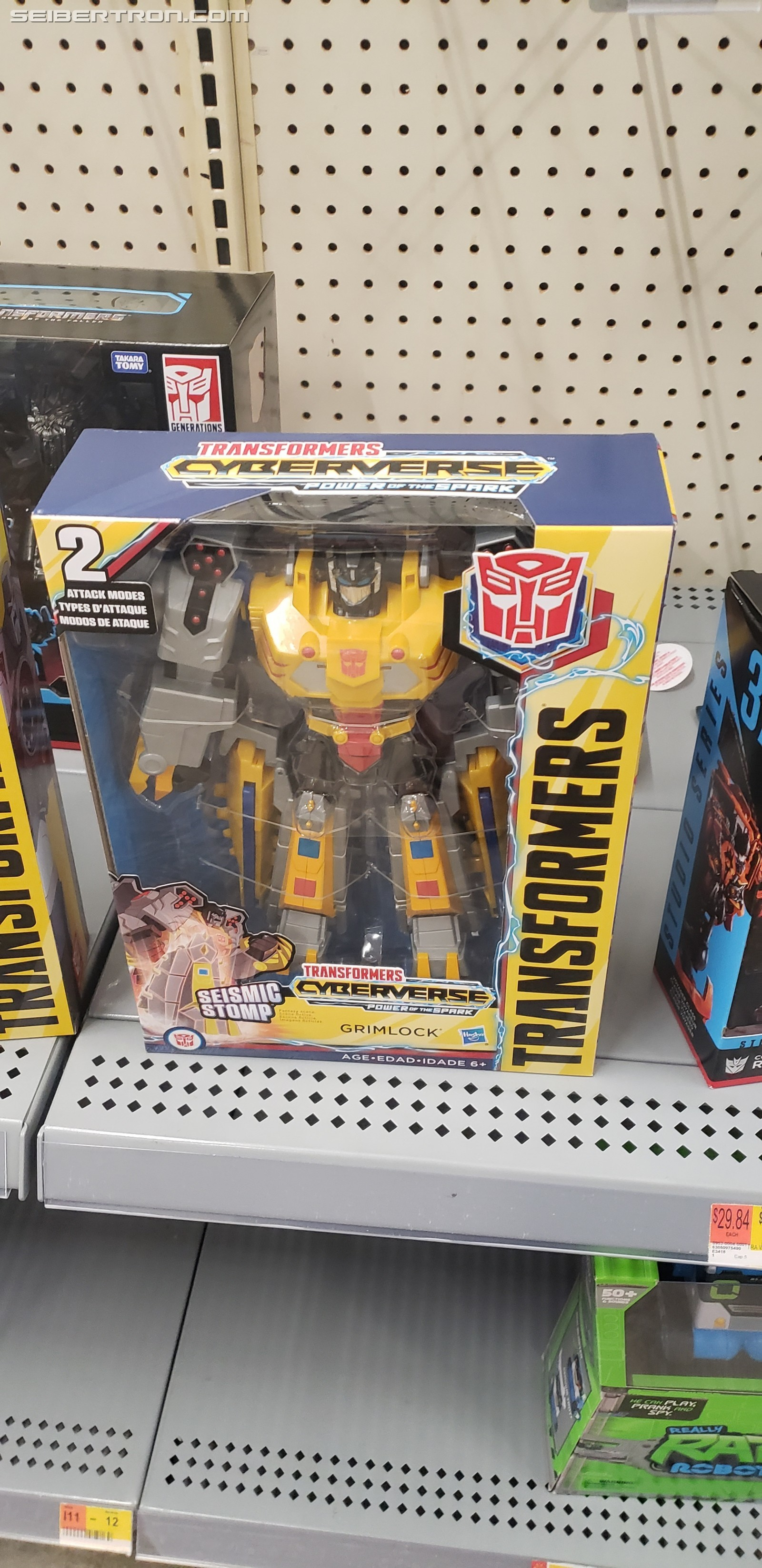 Transformers News: Transformers Cyberverse Ultimate Grimlock Found at US Retail