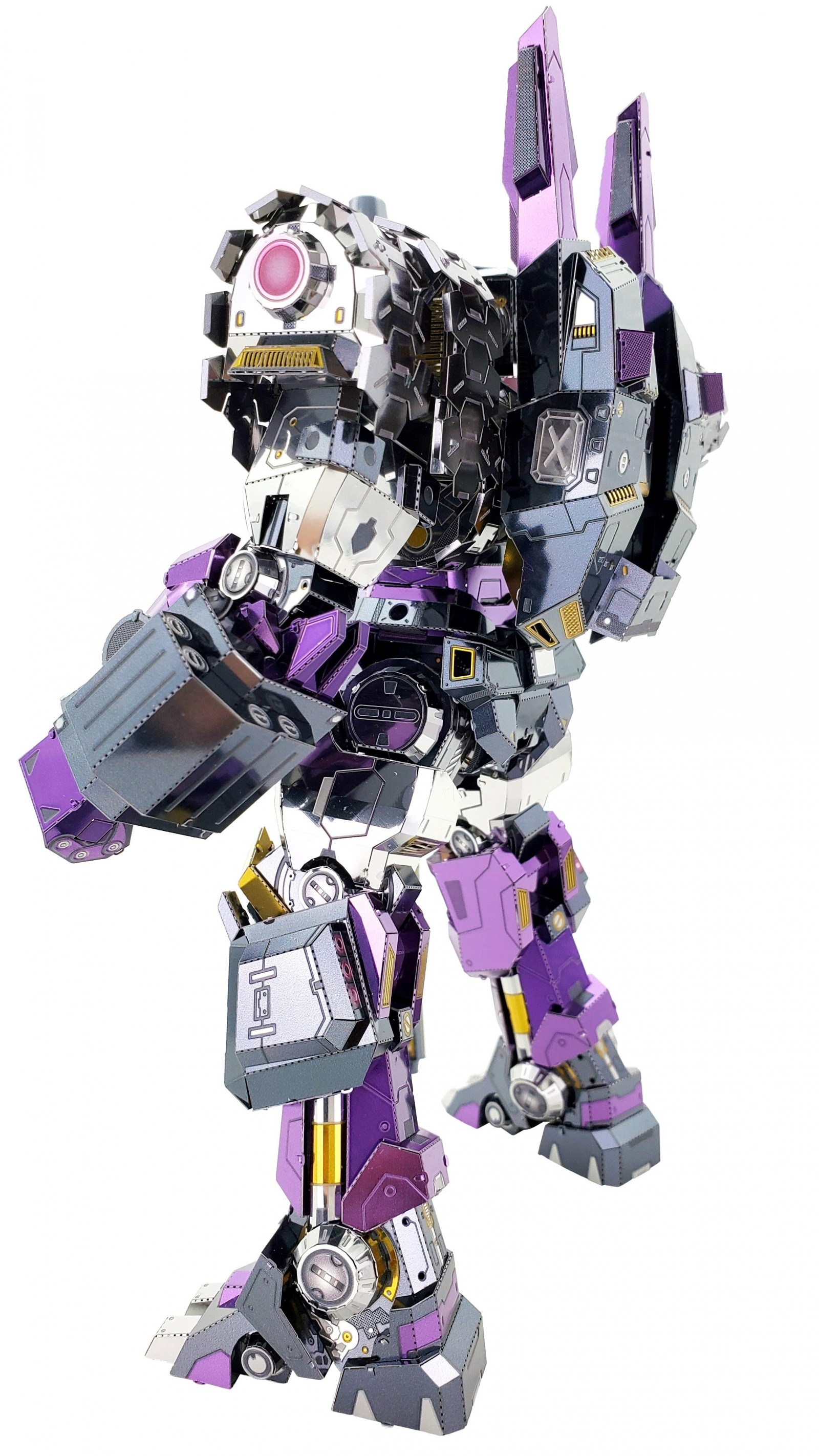 Transformers News: New Metal MU Model of Transformers IDW Tarn Leader of the Decepticon Justice Division